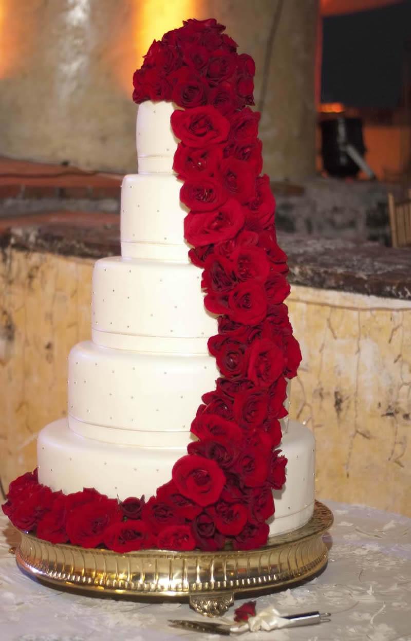 Destination Wedding Shower Cake